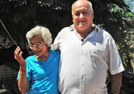 Se casaron tras convivir 50 años