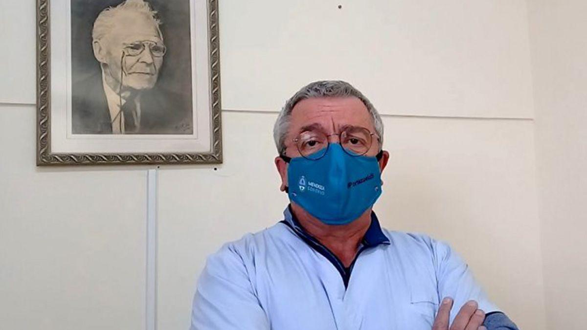 El director del Hospital Schestakow, José Muñoz, afirmó que bajó la ocupación de camas Covid.