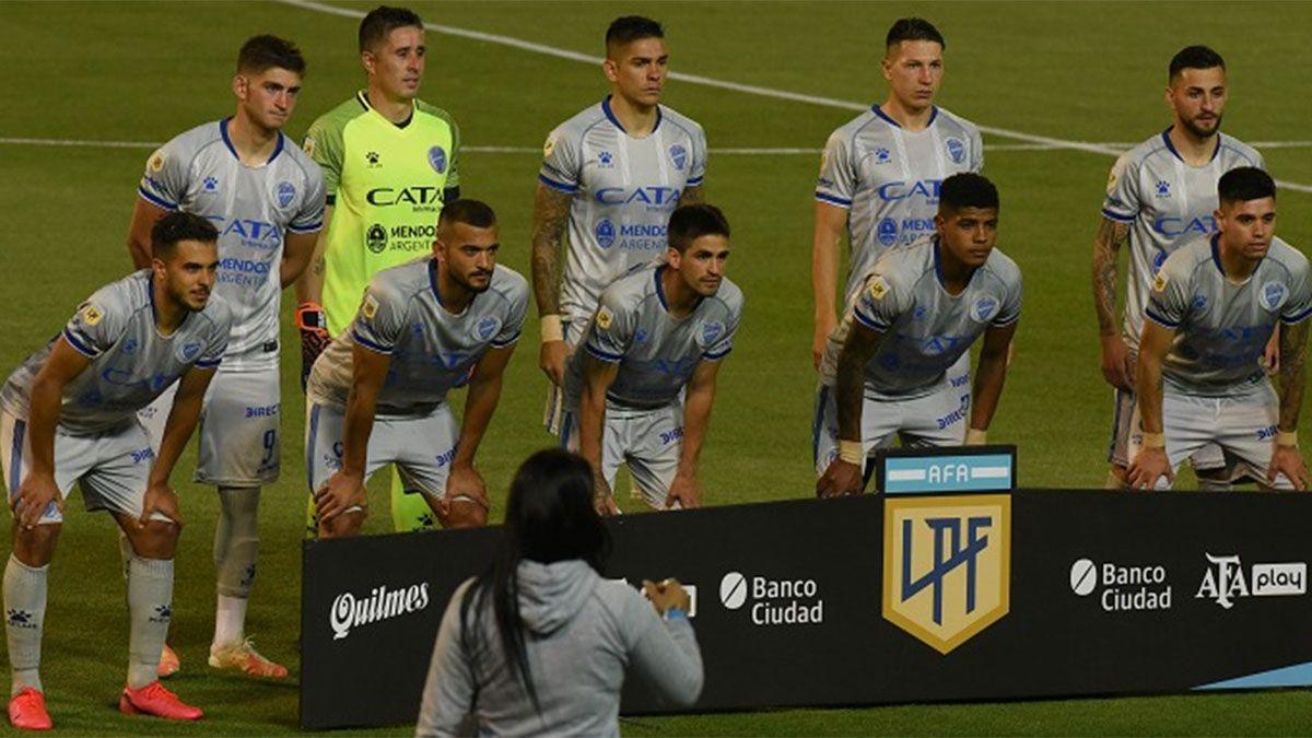 Este es el equipo de Godoy Cruz que debutó ante Central.