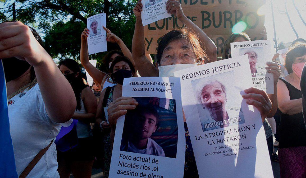 Jubilada murió atropellada por un joven que se fugó y piden justicia