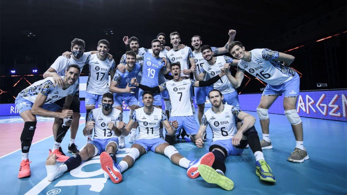 Argentina volvió a la victoria en la Liga de las Naciones de vóleibol.