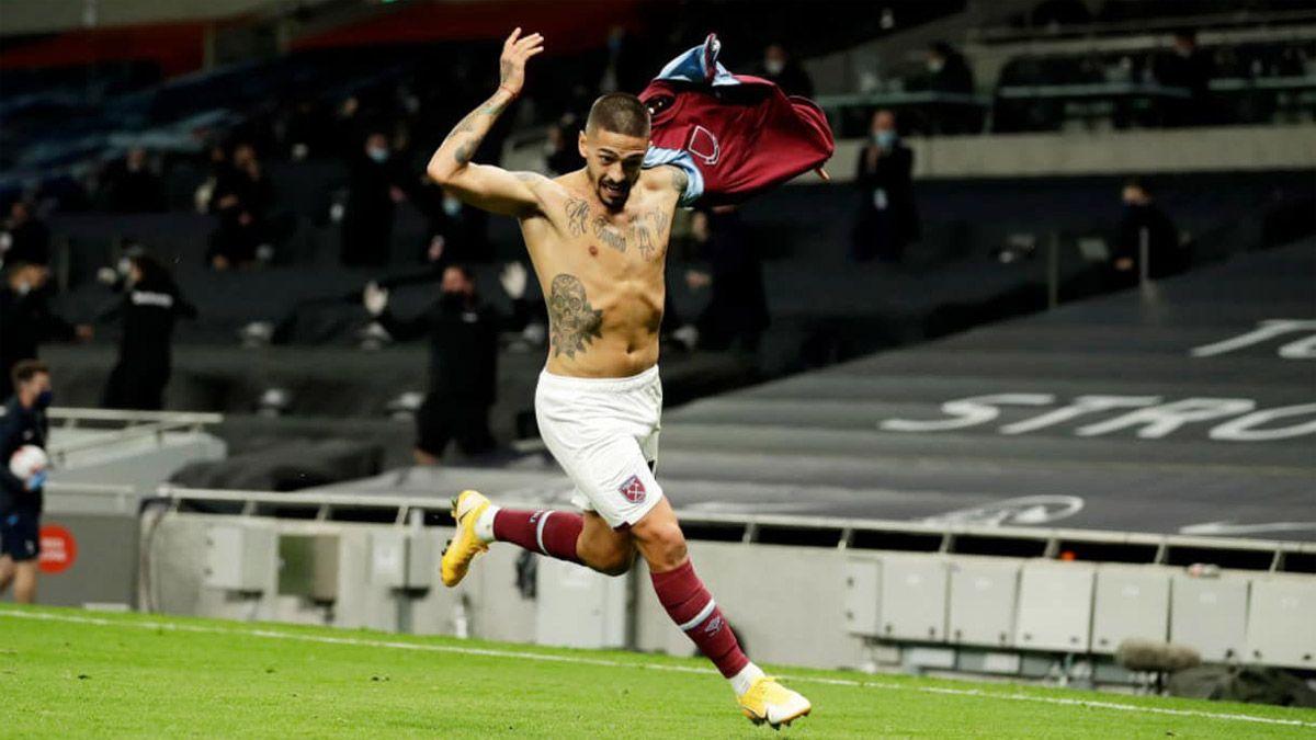 Lanzini coronó con un golazo la gran remontada del West Ham