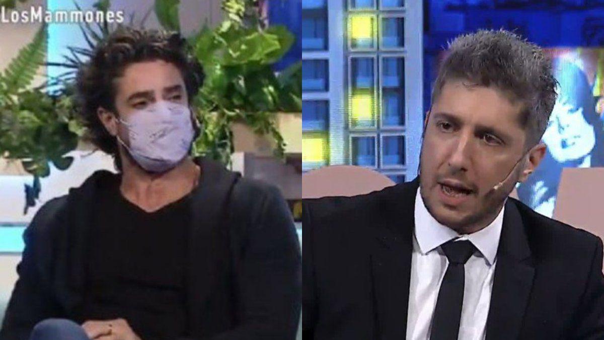 Polémica en las redes por la mala onda de Luciano Castro en Los Mammones