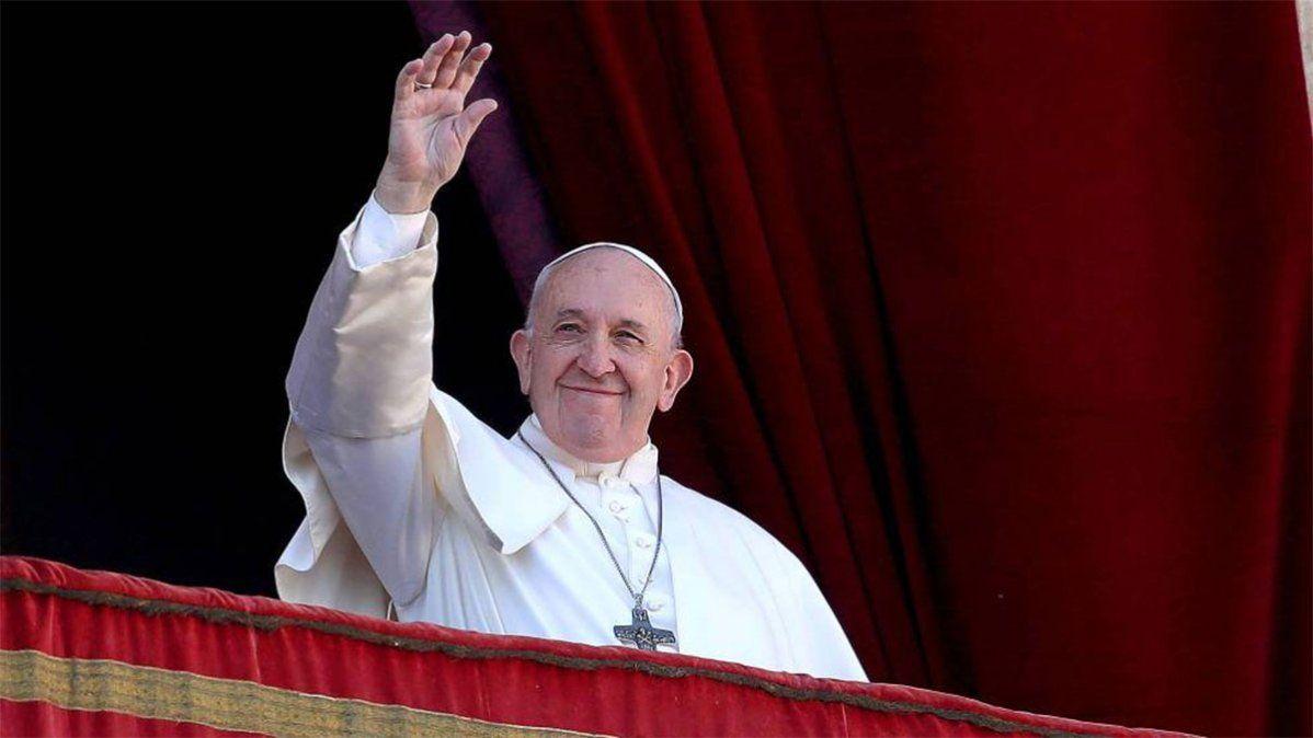 El Papa Francisco dará su bendición navideña desde el aula de las Bendiciones del Palacio Apostólico Vaticano