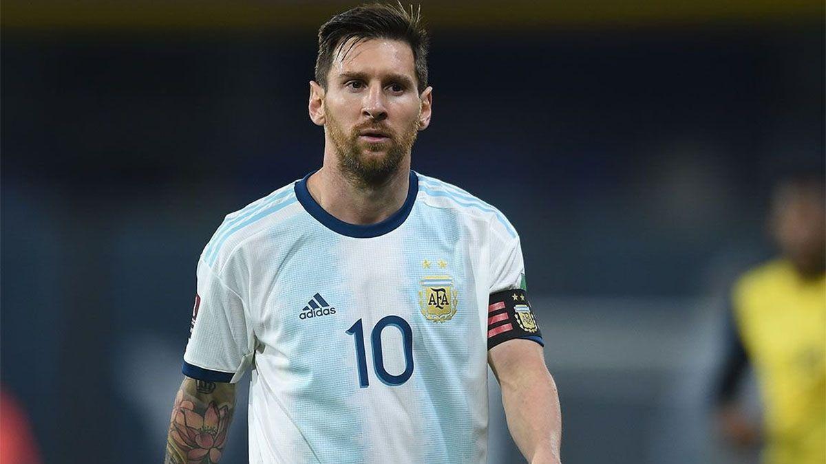 Messi, el Mejor Deportista argentino de los últimos 10 años