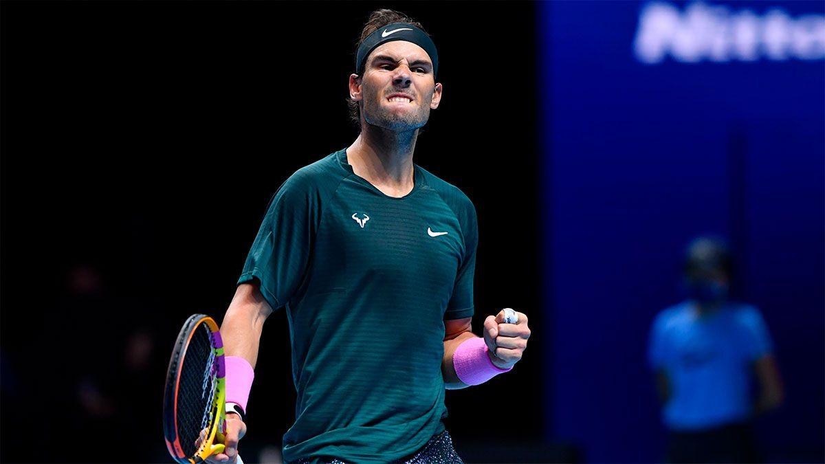 Nadal venció a Tsitsipas y se clasificó a las semifinales