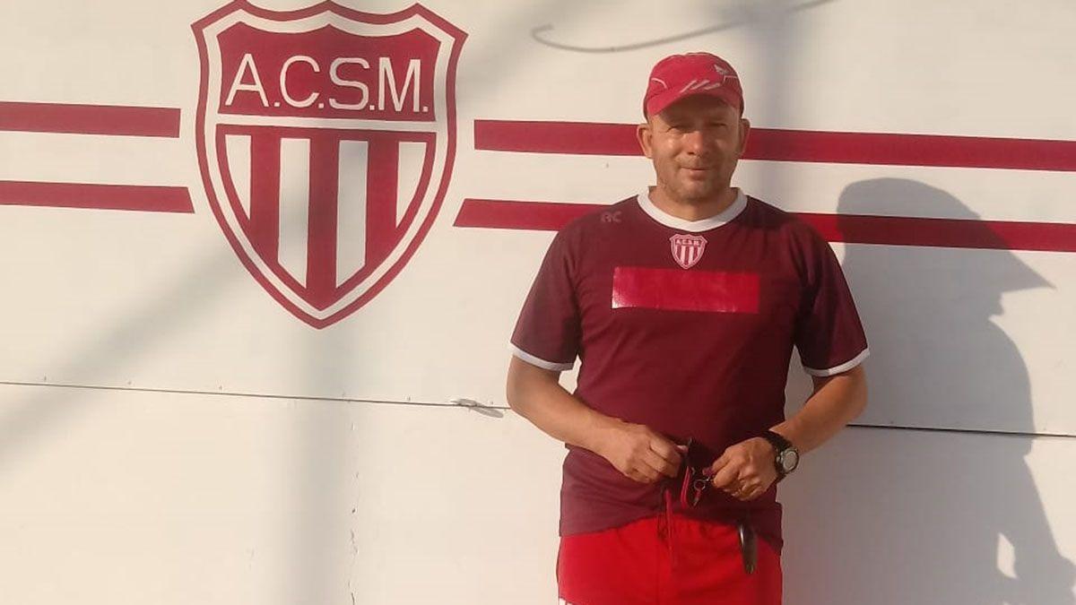 El entrenador Lucio Ramos. Foto: gentileza Prensa Atlético San Martín.