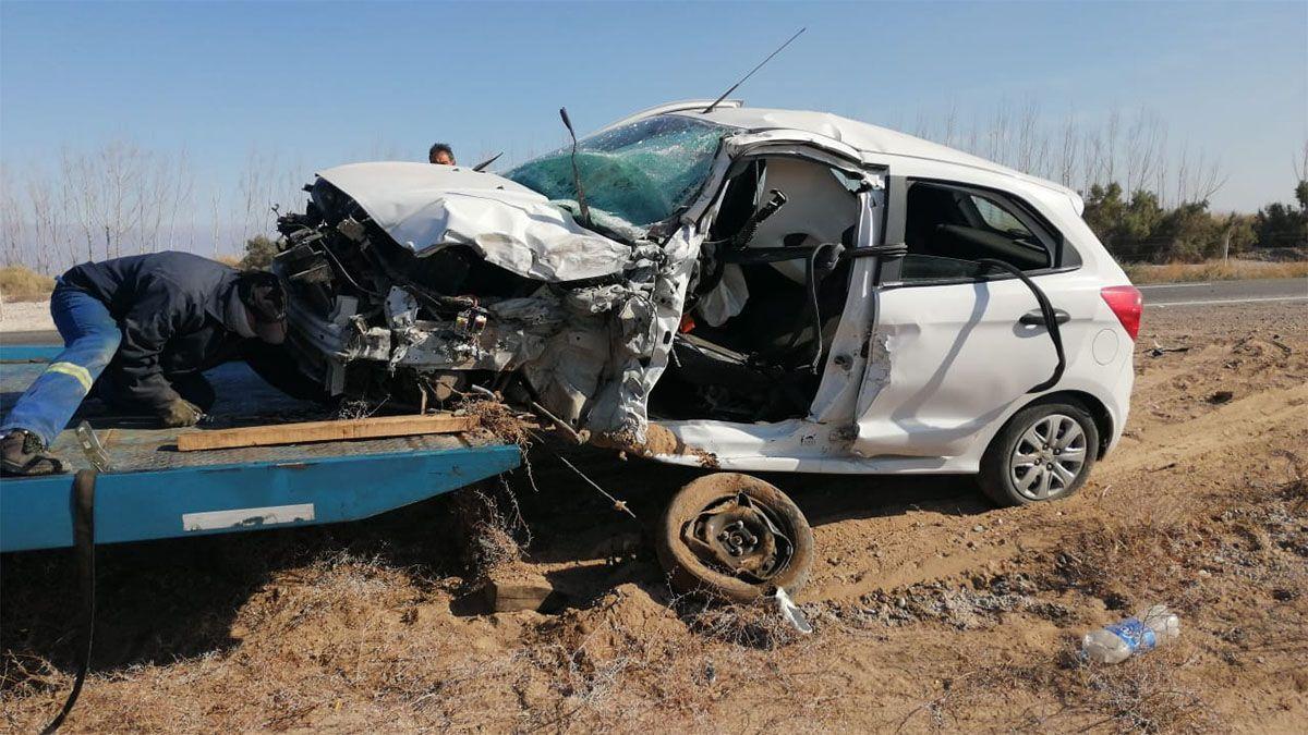 La víctima circulaba por Ruta 40 hacia Lavalle
