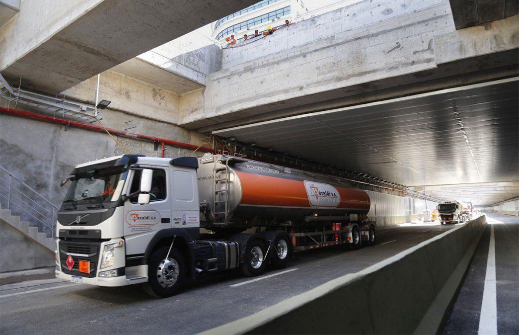 En agosto subieron los costos del transporte de cargas. Foto: NA.