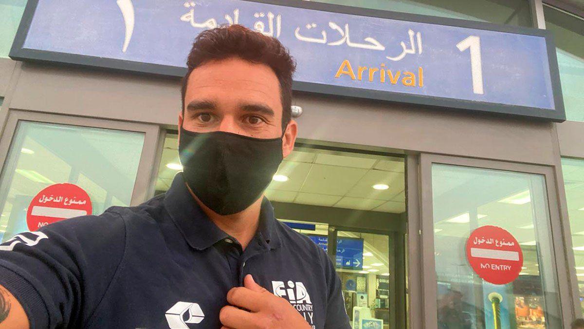 Ricardo Torlaschi llegó a Arabia tras una verdadera odisea.