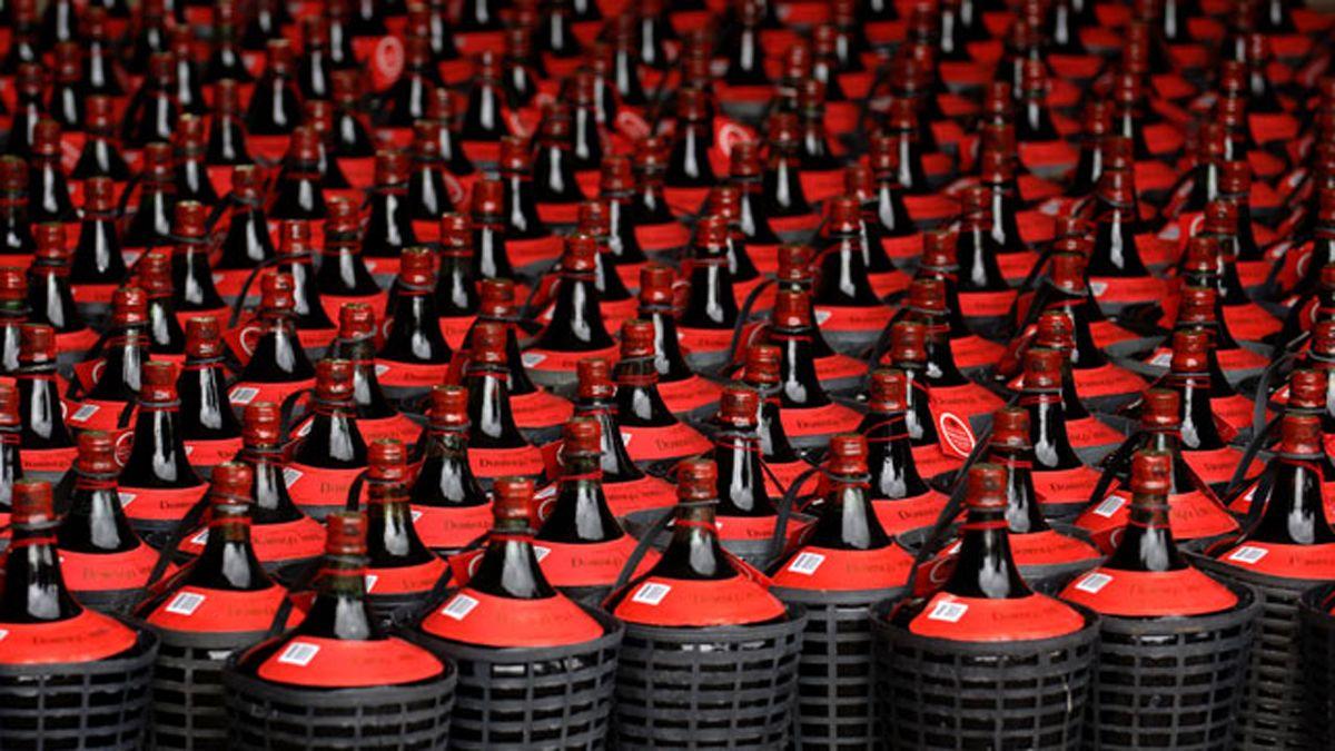 La damajuana de vino resurgió como envase estrella tras la pandemia