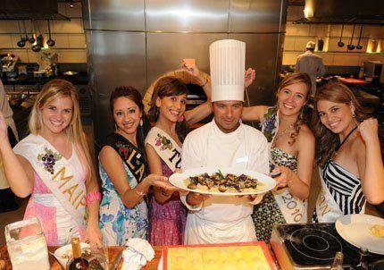 Reinas en la cocina y con buen apetito