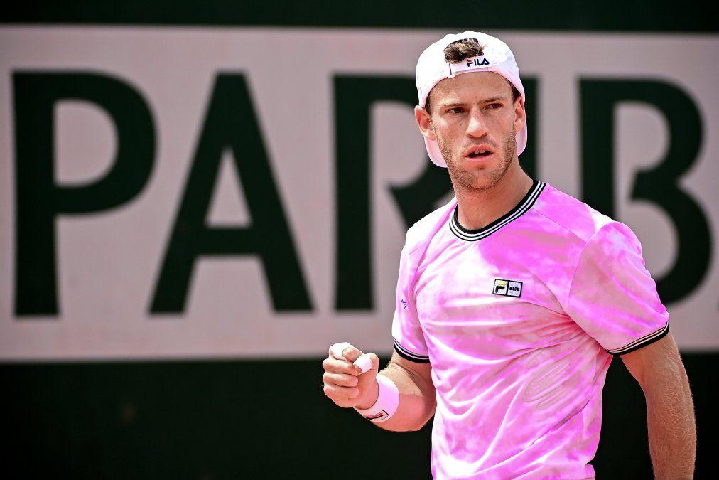 Diego Schwartzman ganó y avanza en Roland Garros