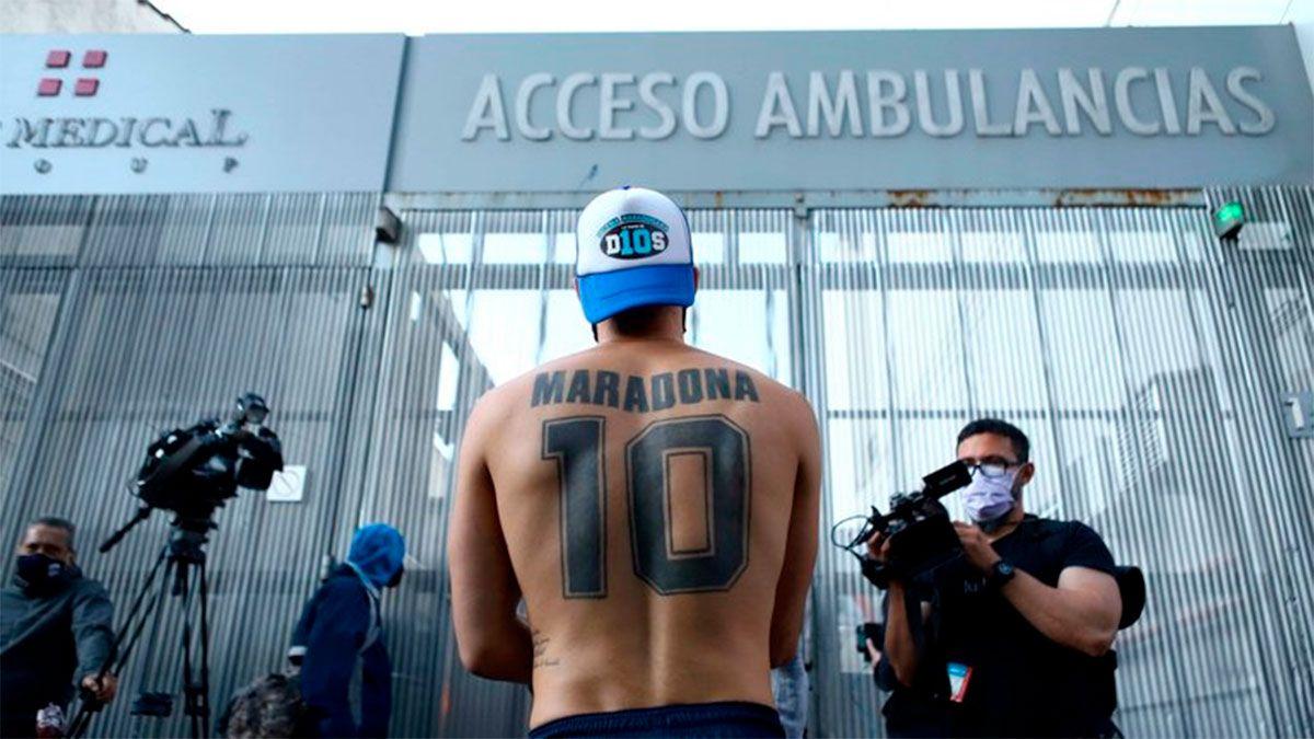 Maradona hoy: podría ser trasladado a una casa en Nordelta