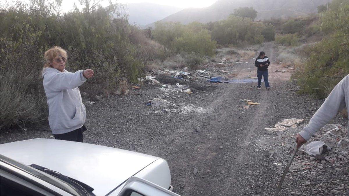 La vidente Verónica Contreras aseguró que a Abigail Carniel la enterraron en El Challao.