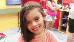 Evangelina Quiroga tenía 7 años cuando fue atropellada.