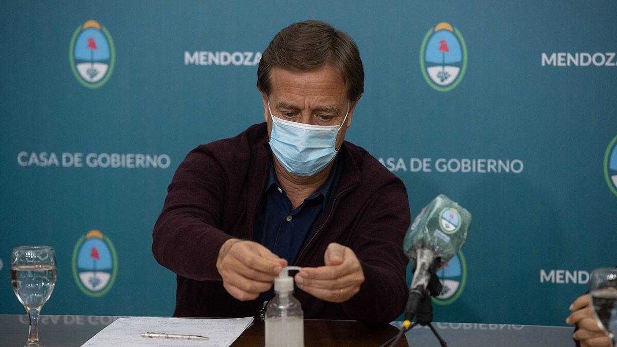 Rodolfo Suarez anunciará las nuevas restricciones en Mendoza