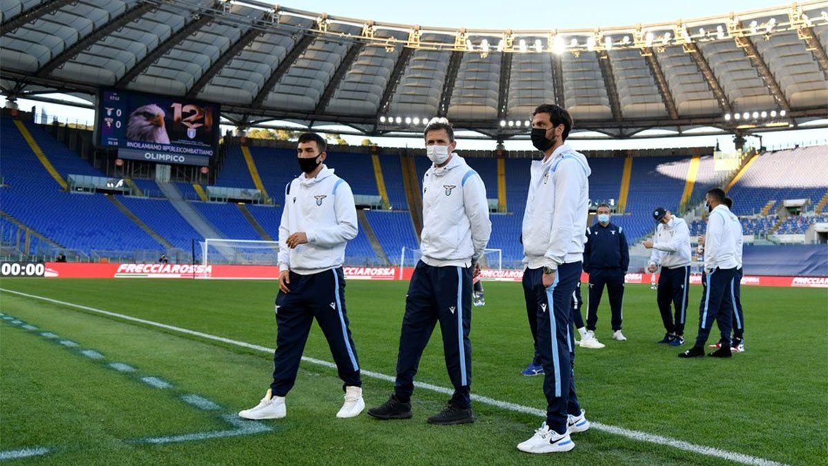El partido Lazio-Torino, suspendido por diez casos de coronavirus