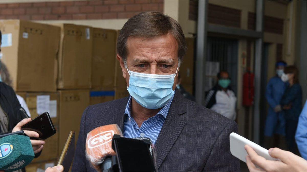 El gobernador Rodolfo Suarez define las nunevas restricciones por el coronavirus en Mendoza