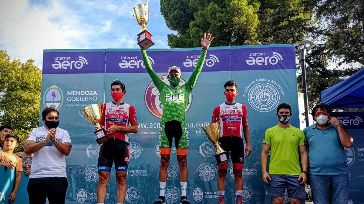 Juan Pablo Dotti se quedó con la cuarta etapa, pero manda Naranjo