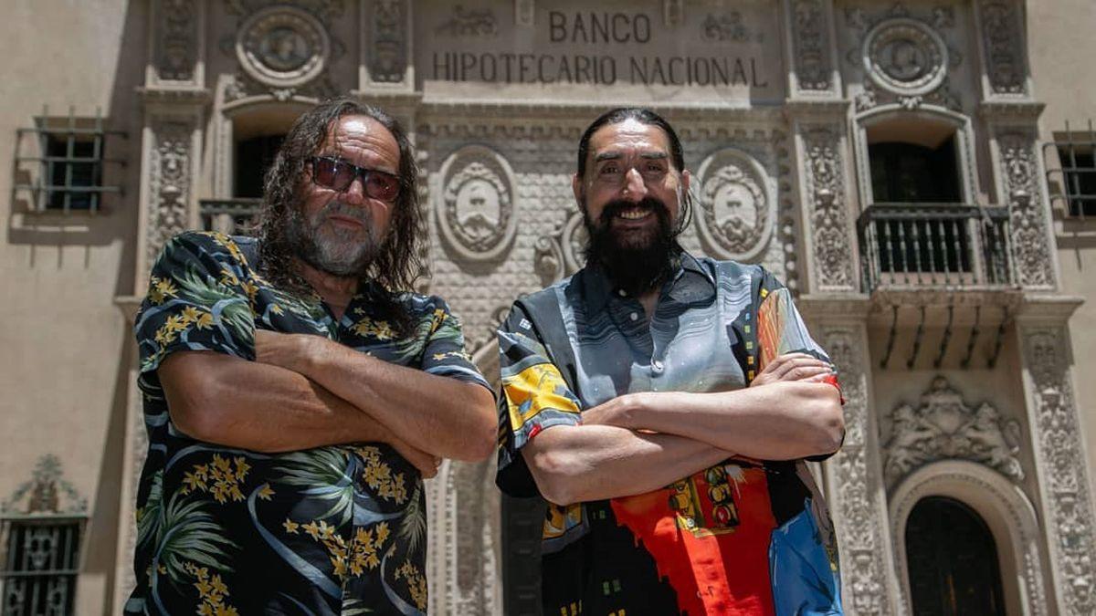 Cacho Garay y Hugo Varela.