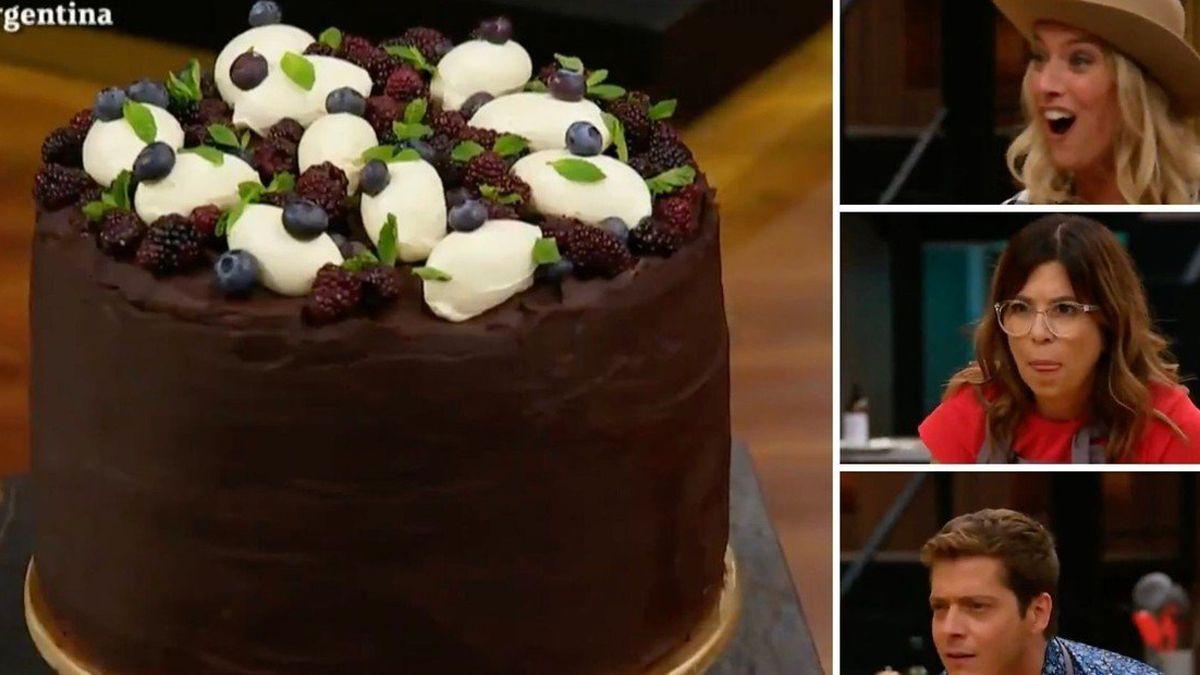 La torta de chocolate de Masterchef.