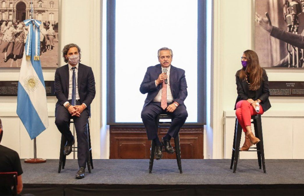 Alberto Fernández se mostró junto al gobernador de la provincia de Buenos Aires