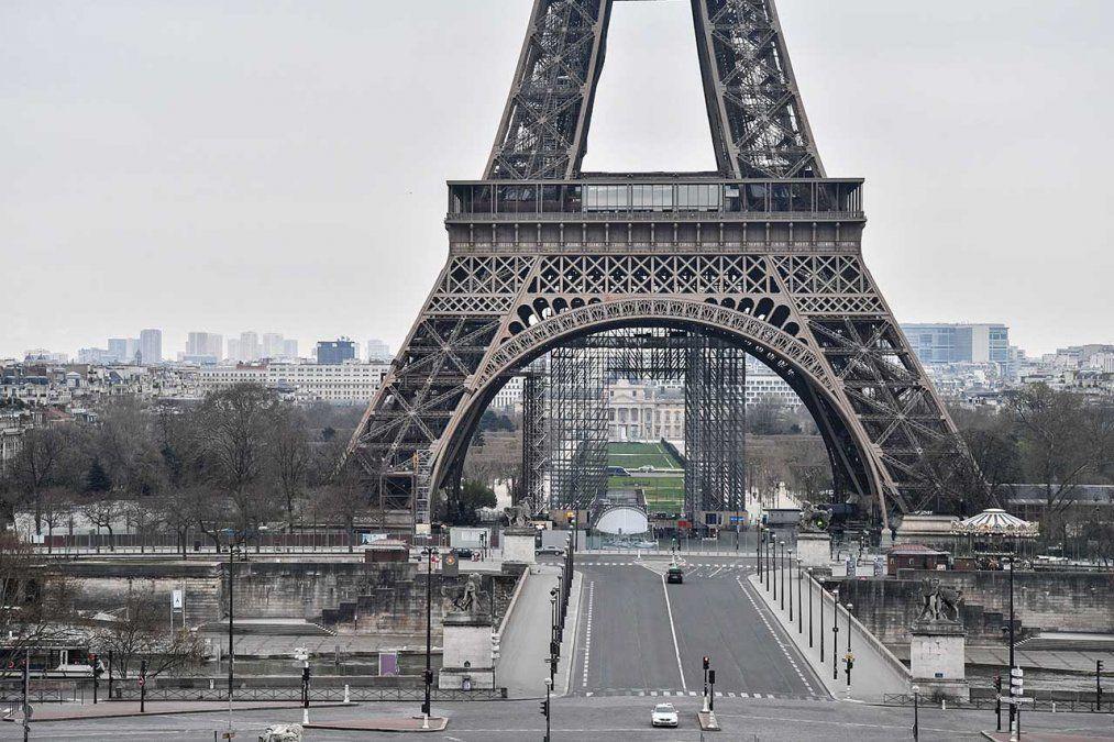 Toque de queda. Francia vive un rebrote del coronavirus.