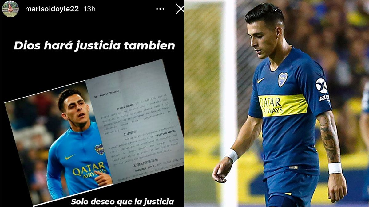 Cristian Pavón fue denunciado por abuso sexual