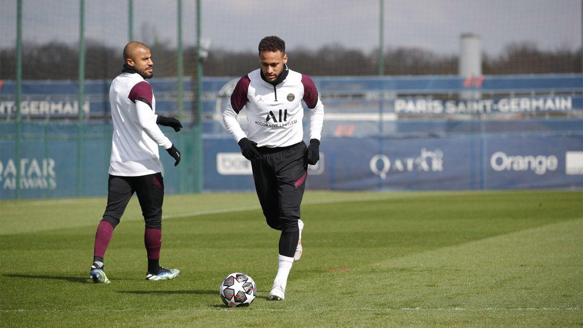 Neymar empezó a sonar con más fuerza en el Barcelona