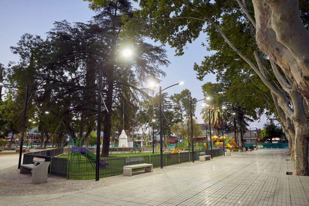 Orozco celebra los 150 años de Las Heras con la renovación del casco urbano