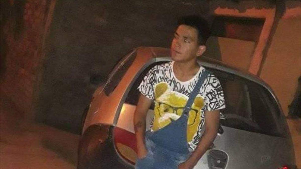 Daniel Giménez (18) murió el domingo pasado en San Martín.