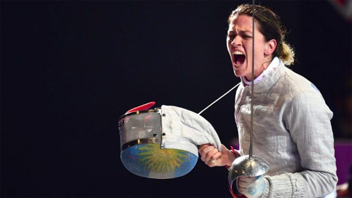 La esgrimista Belén Pérez Maurice sacó boleto a Tokio