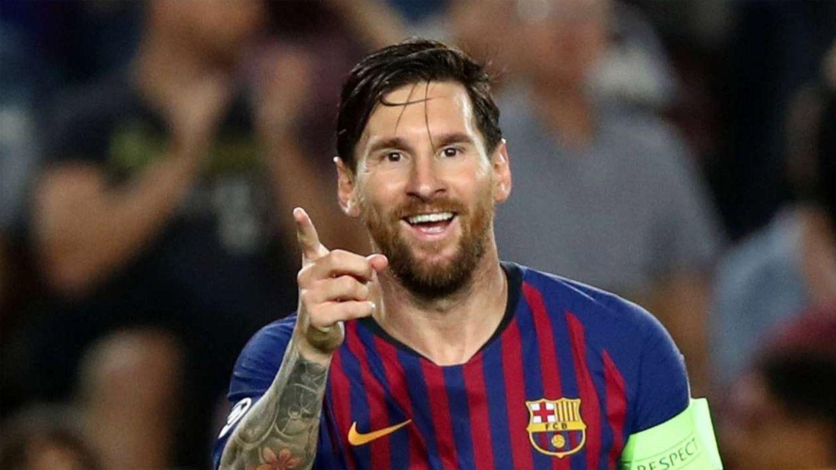 Messi se testeó en su casa para sumarse al Barcelona
