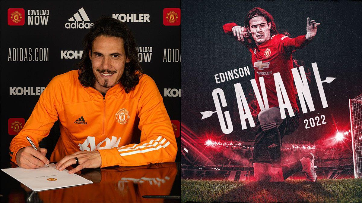 Cavani renovó con el Manchester United y en Boca hay dolor