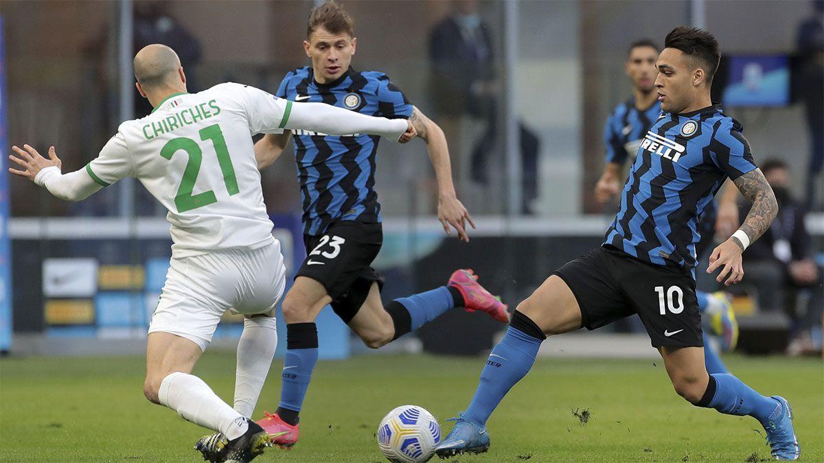 Inter ganó con un gol de Lautaro Martínez y se encamina al título