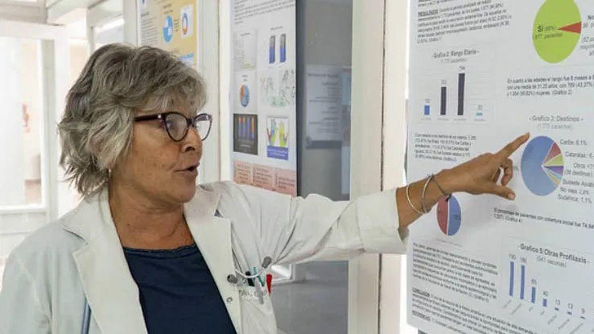 Elena Obieta. La epidemióloga hizo hincapié en la necesidad de continuar con los cuidados aún después de estar vacunados.