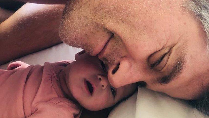 Mike Amigorena compartió una tierna postal de su hija Miel