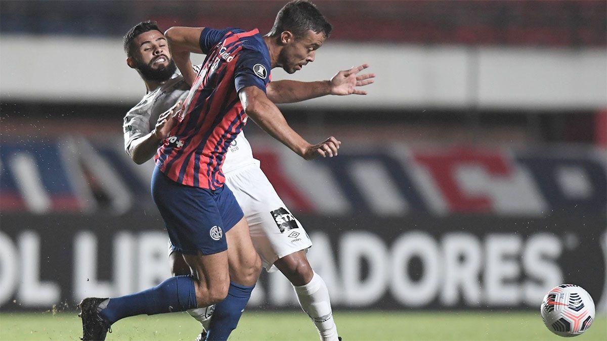 San Lorenzo buscará la heroica ante el Santos, en Brasilia