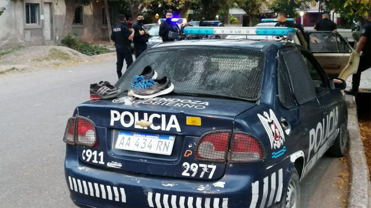 Persecución, tiroteo y tres delincuentes detenidos