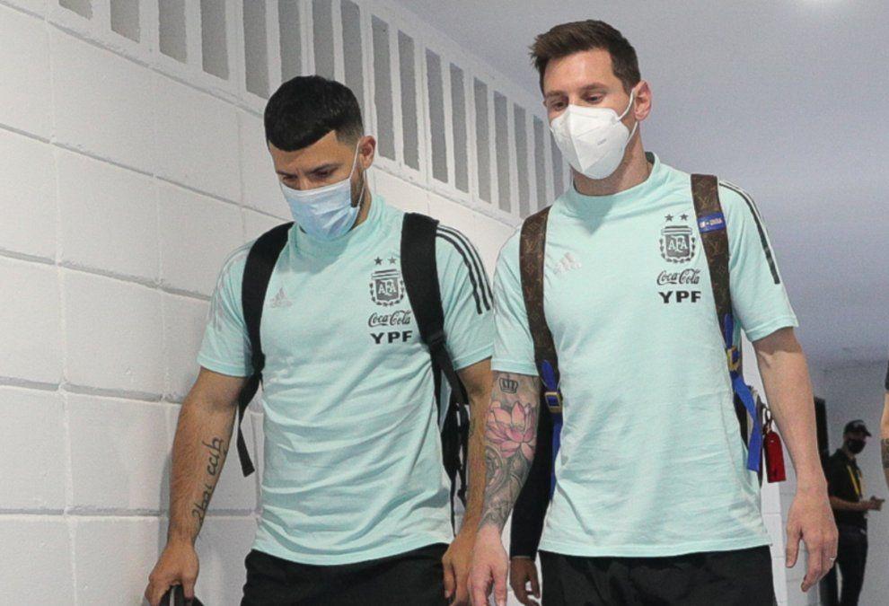 El Kun Agüero y Lionel Messi podrían ser compañeros de club por primera vez.