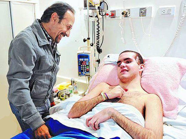 Francella le cumplió el sueño a Enzo, joven en recuperación