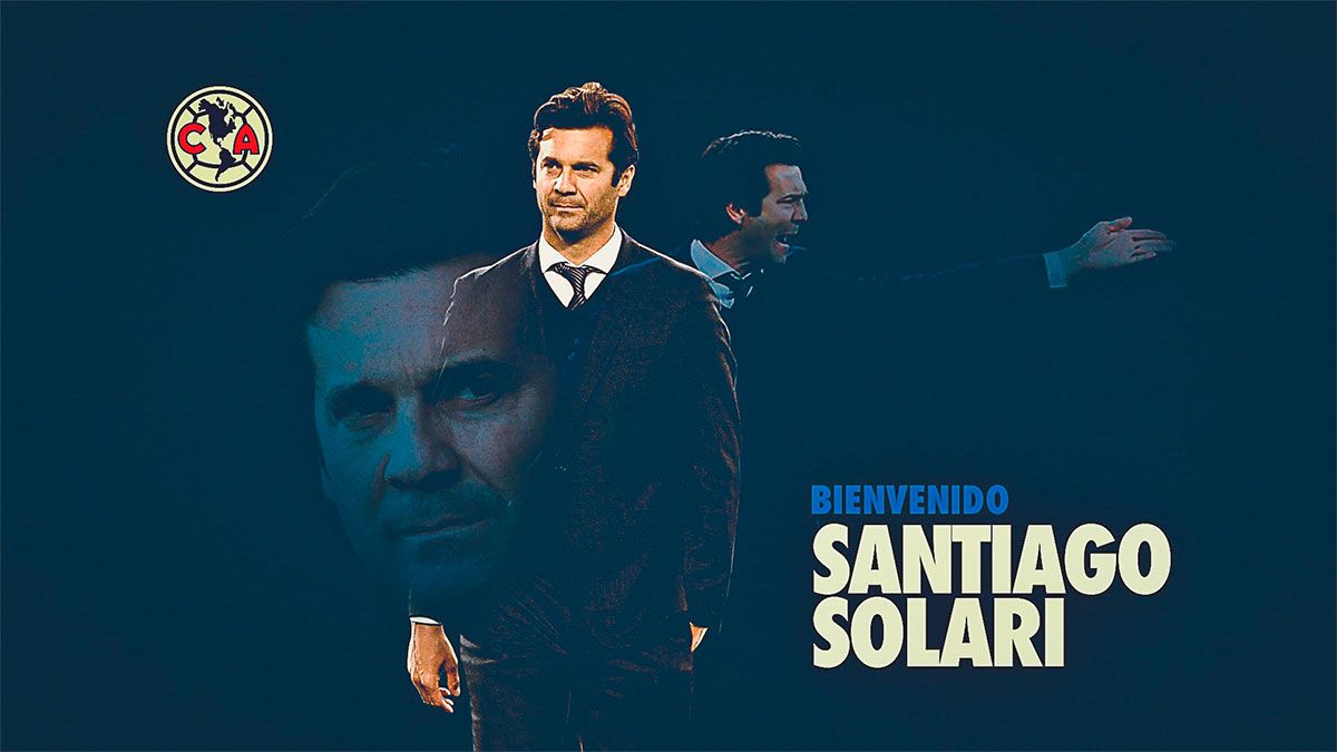 Santiago Solari fue oficializado como DT del América