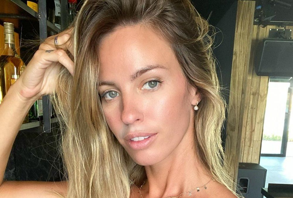 La foto de Rocío Guirao Díaz en bikini mostrando su pancita: Después de comer