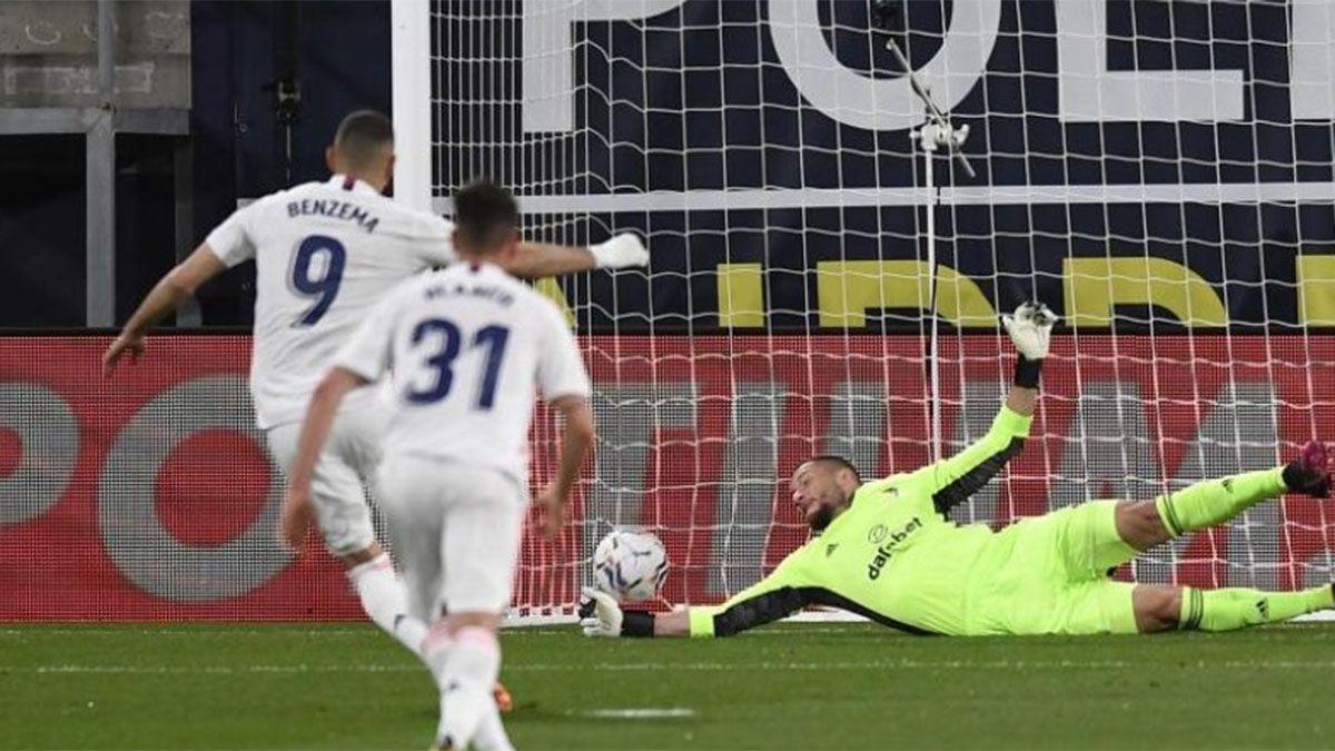Real Madrid goleó y alcanzó a Atlético en la punta