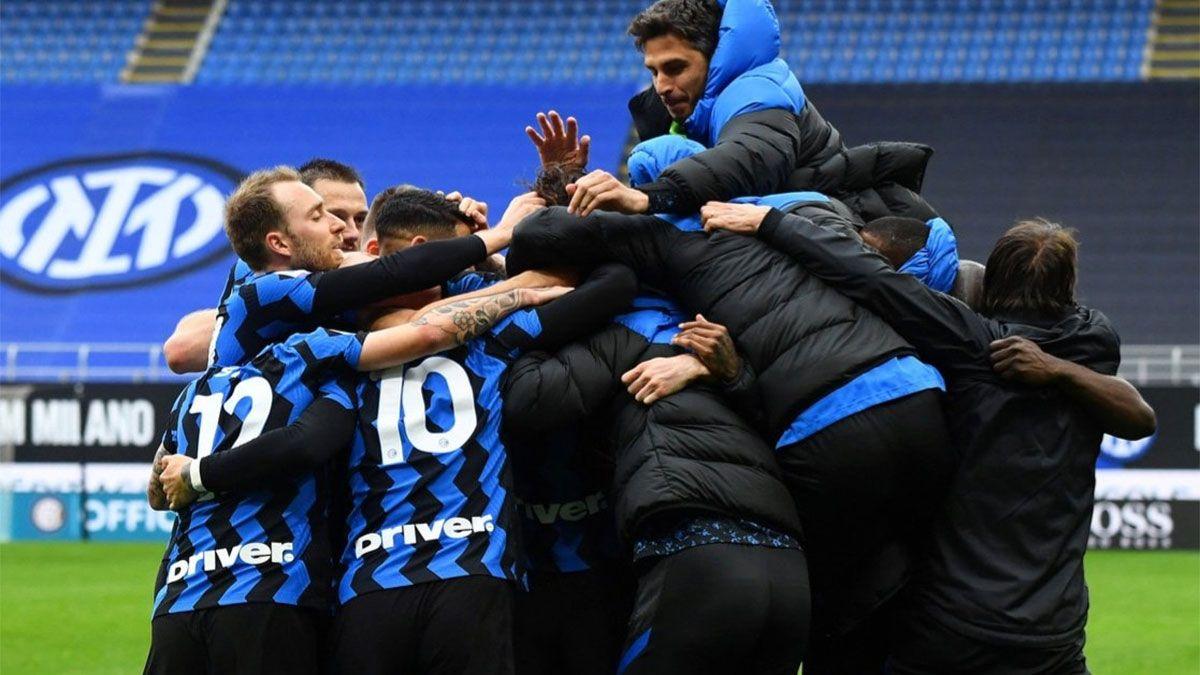 Inter venció a Cagliari y sigue firme hacia el título