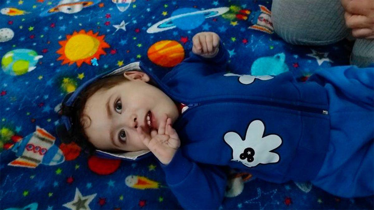 Samuel, el bebé que necesita el remedio más caro del mundo