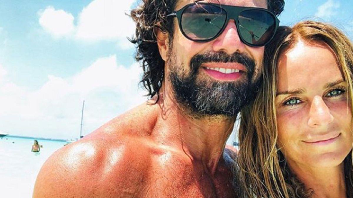¡Infraganti! Luciano Castro visto con otra mujer.