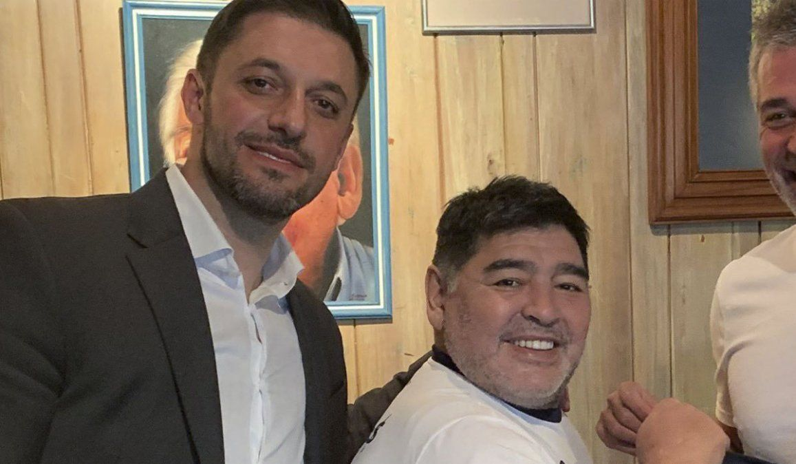 Morla reveló qué fue lo último que le dijo Maradona antes de morir