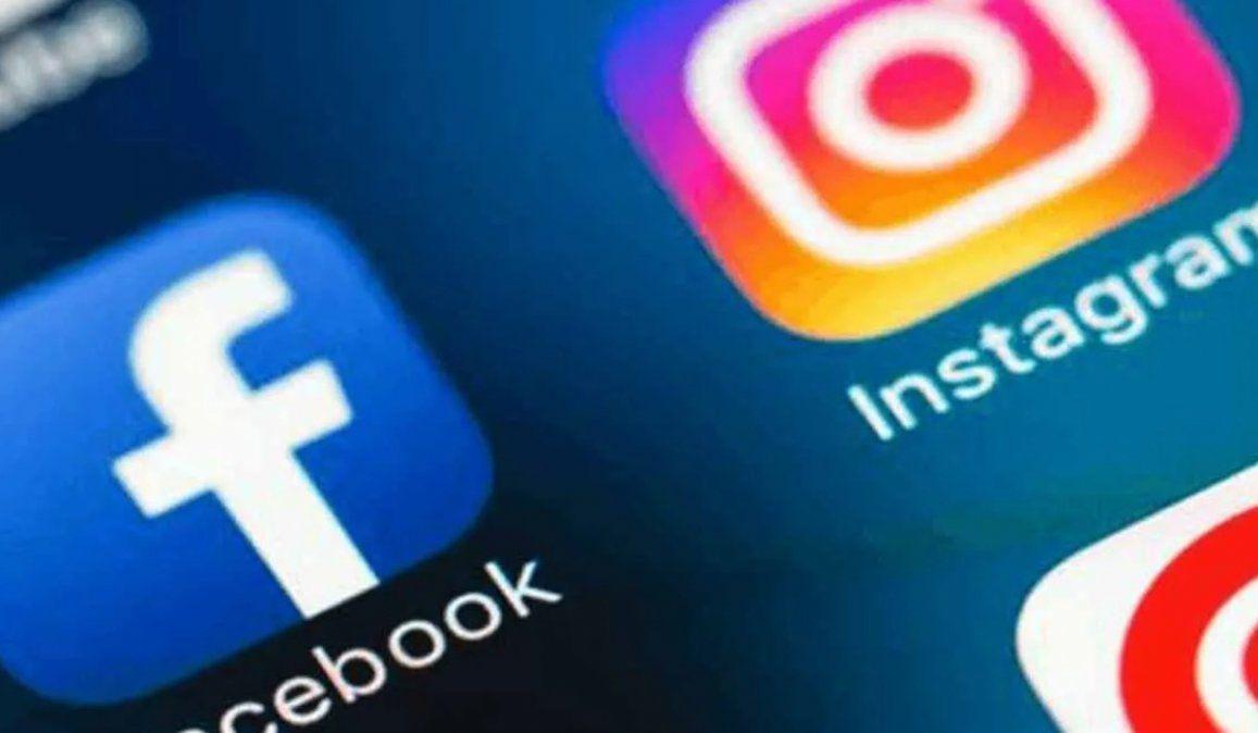 Redes sociales: Facebook e Instagram cayeron a nivel mundial